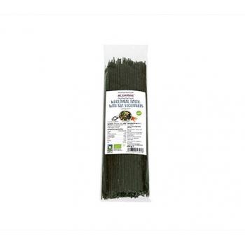 Spaghete integrale din grau dur cu alge marine bio 250 gr ALGAMAR
