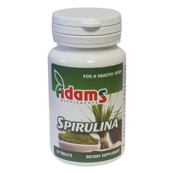 Spirulina 400mg 30 tbl ADAMS SUPPLEMENTS