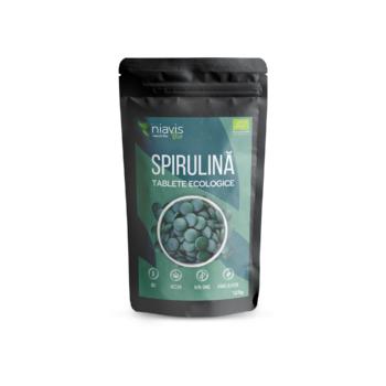 Spirulina tablete ecologice  125 cps NIAVIS