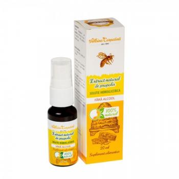 Spray cu extract natural de propolis 20 ml ALBINA CARPATINA