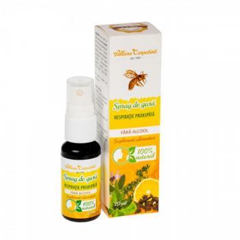 Spray de gura pentru o respiratie proaspata 20 ml ALBINA CARPATINA