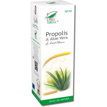 Spray propolis & aloe vera 50 ml PRO NATURA