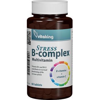 Stress b complex cu vitamina c 60 cpr VITAKING