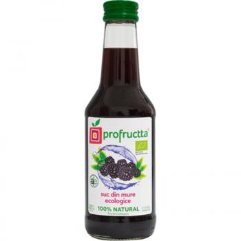 Suc din mure ecologic 100% natural 250 ml PROFRUCTTA