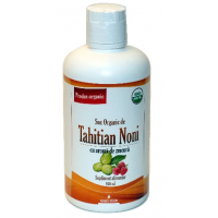 Suc de noni tahitian cu aroma de zmeura, 3+1 gratis