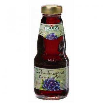 Suc de struguri rosii bio 200 ml POLZ