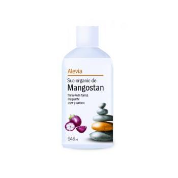 Suc organic de mangostan 946 ml ALEVIA