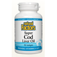 Super cod liver oil  90cps NATURAL FACTORS