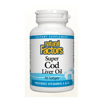 Super cod liver oil  90 cps NATURAL FACTORS