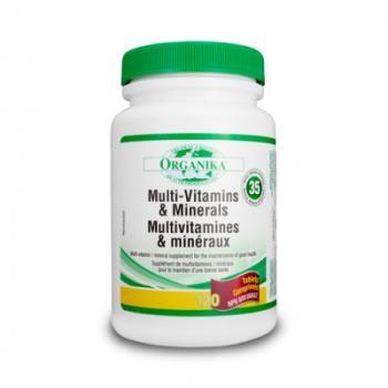Super multivitamine minerale si nutrienti 120 cps ORGANIKA