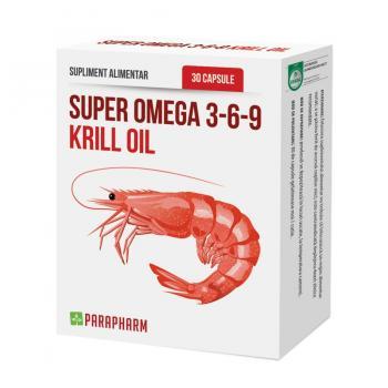 Super omega 3-6-9 krill oil 30 cps PARAPHARM