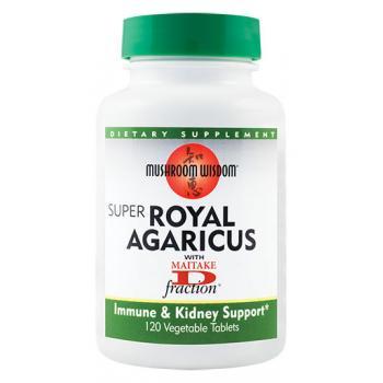 Super royal agaricus 120 tbl MUSHROOM WISDOM