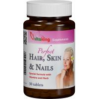 Supliment natural pentru par, piele si unghii