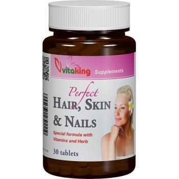 Supliment natural pentru par, piele si unghii 30 cpr VITAKING
