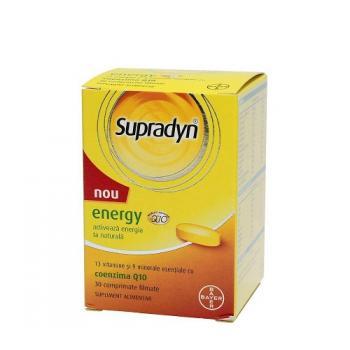 Supradyn energy + coenzima q10 30 cpr SUPRADYN