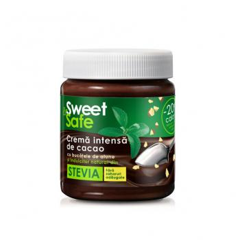 Sweet&safe, crema intensa de cacao, alune si stevie 220 ml SLY NUTRITIA