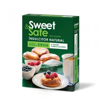 Sweet&safe, indulcitor natural din stevia 350 gr SLY NUTRITIA
