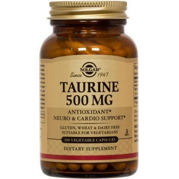 Taurine 500 mg 50 cps SOLGAR