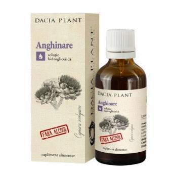Tinctura de anghinare fara alcool 50 ml DACIA PLANT