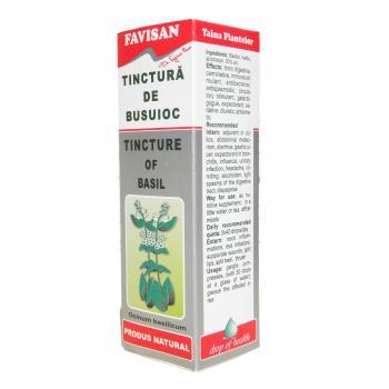 Tinctura de busuioc x006 50 ml FAVISAN
