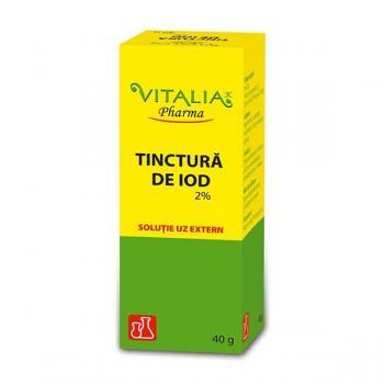 Tinctura de iod 40 ml VITALIA - VIVA