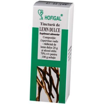 Tinctura de lemn dulce 50 ml HOFIGAL