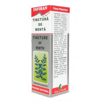Tinctura de menta k001 50 ml FAVISAN