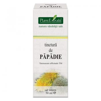 Tinctura de papadie - taraxacum officinale tm 50 ml PLANTEXTRAKT