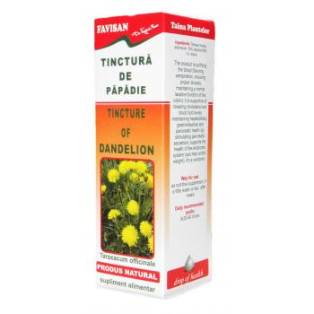 Tinctura de papadie x022 50 ml FAVISAN