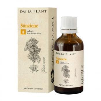 Tinctura de sanziene 50 ml DACIA PLANT