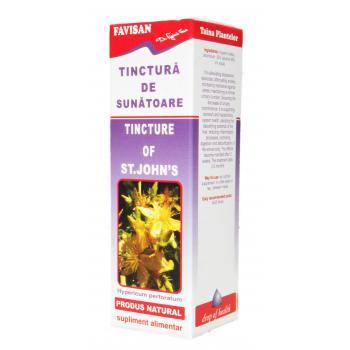 Tinctura de sunatoare x029 50 ml FAVISAN