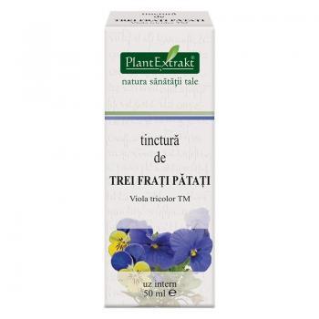 Tinctura de trei frati patati - viola tricolor tm 50 ml PLANTEXTRAKT