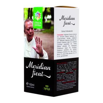 Tinctura meridian ficat 100 ml STEAUA DIVINA