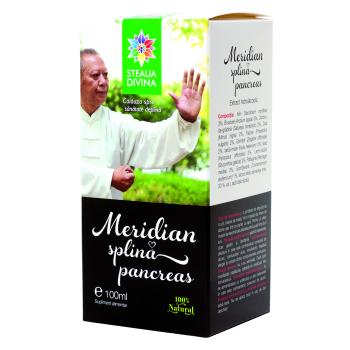 Tinctura meridian splina pancreas 100 ml STEAUA DIVINA