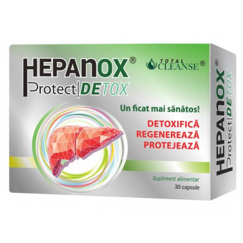 Hepanox Protect Detox (Total Cleanse) 30 cps COSMOPHARM
