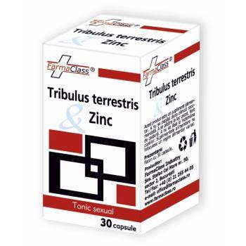 Tribulus terrestris & zinc 30 cps FARMACLASS