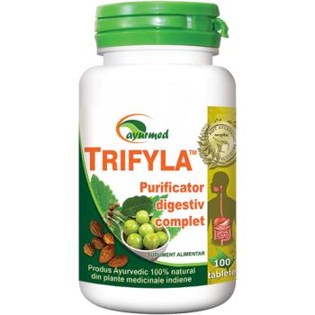 Trifyla, purificator digestiv complet 100 tbl AYURMED