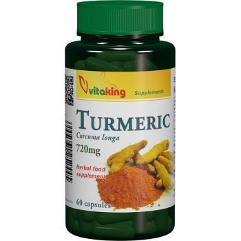 Turmeric (curcuma) 720mg 60 cps VITAKING