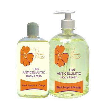 Ulei anticelulitic body fresh cu piper & portocala 250 ml KOSMO OIL