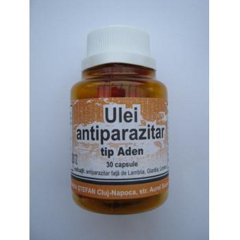 Ulei antiparazitar, tip aden 30 cps STEFANIA STEFAN