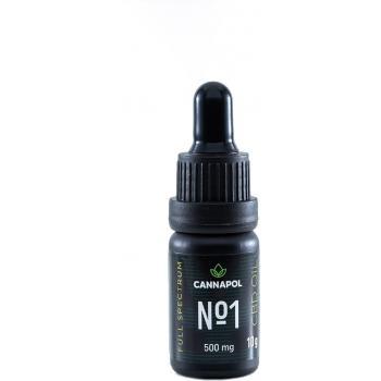 Ulei cbd 5% cannapol (spectru complet)  10 ml CANNAPOL