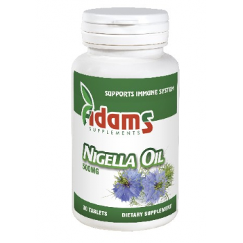 Ulei chimen negru 500mg (nigella oil) 30 cps ADAMS SUPPLEMENTS