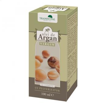 Ulei de argan virgin 100 ml TRANSVITAL
