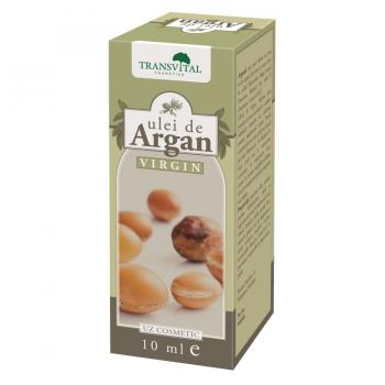 Ulei de argan virgin 10 ml TRANSVITAL