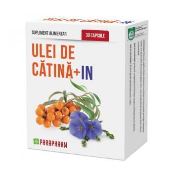 Ulei de catina + in 30 cps PARAPHARM