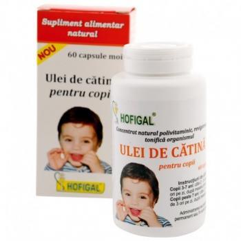 Ulei de catina pentru copii 60 cps HOFIGAL