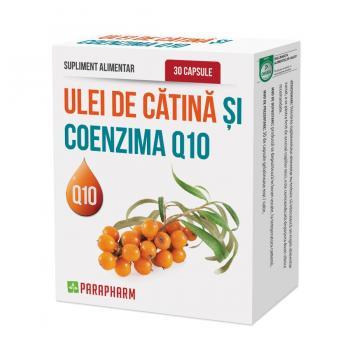 Ulei de catina si coenzima q10 30 cps PARAPHARM