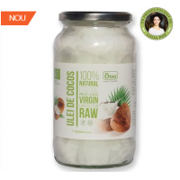 Ulei de cocos virgin raw bio