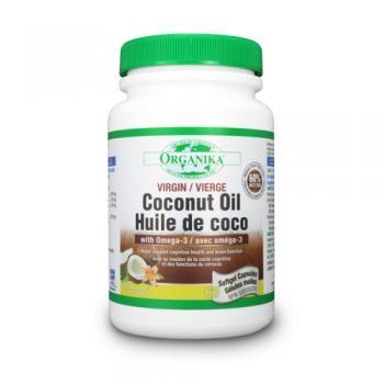 Ulei de cocos cu omega 3 60 cps ORGANIKA