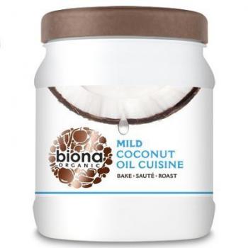 Ulei de cocos dezodorizat pentru gatit bio 800 ml BIONA ORGANIC